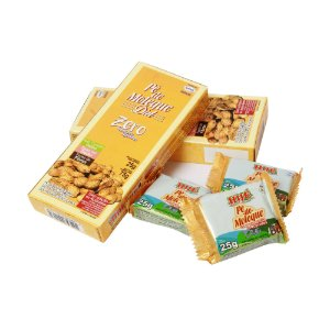 Pé de Moleque Diet Hué (Sem Adição de Açúcares) Vegano Sem Glúten Sem Lactose  - Blister 75G (Com 3 Unidades de 25g)