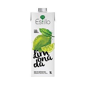 Limonada + Estilo 1 Litro - Suco Natural Adoçado Com Açúcar Orgânico