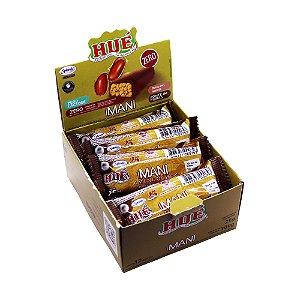 Display Maní  Diet Hué (Sem Adição de Açúcares) Vegano  Sem Glúten  Sem Lactose 300 g (com 12 Unidades de 25g)