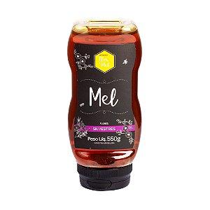 Mel Flores Silvestres 550g 100% Puro Sem Glúten Premium Apiário Flor de Mel