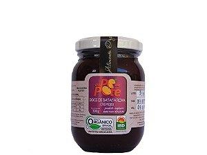 Doce de Batata Roxa Orgânico 300g com Açúcar Sem Glúten Sem Lactose Do Pé ao Pote