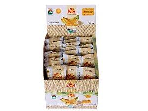 Display de Bananinha com 27 unidades de 28g Sem Adição de Açúcar Sem Glúten Sem Lactose Do Pé ao Pote 756g