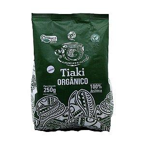 Café Orgânico Tiaki Torrado e Moído 100% Arábica 250g