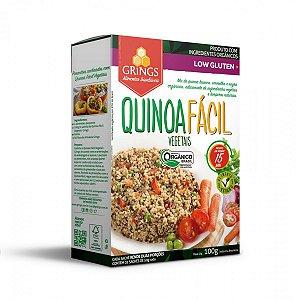 Quinoa Fácil Vegetais Orgânica Low Glúten 100g Grings Alimentos