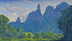 Obra Dedo de Deus 20 x 35 Atelier de Pintura Jonas Lemes Cód. ref. 710