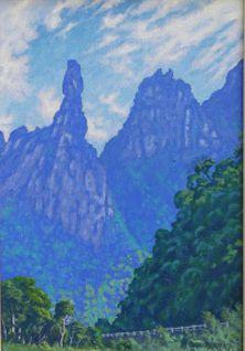 Obra Dedo de Deus 30 x 20 Atelier de Pintura Jonas Lemes Cód. ref. 709