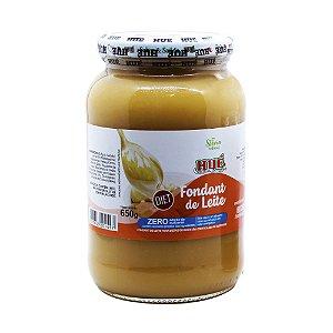 Fondant de Leite Puro (Doce de Leite) Diet Hué (Sem Adição de Açúcares) Sem Glúten Pote 650g