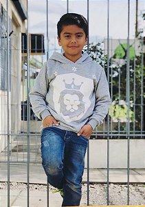 Moletom Geração Jubilar Cinza Kids