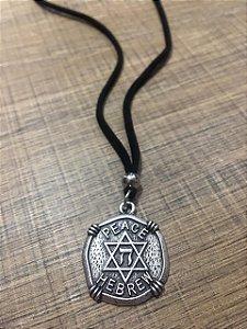Colar Judaico Hebraico da Paz