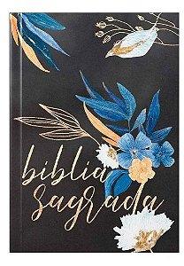 Bíblia Sagrada | ACF | Letra Média | Capa Brochura | Flores