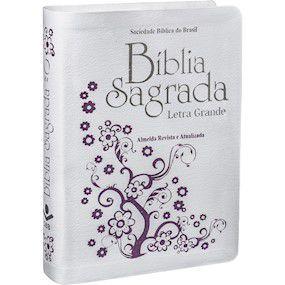 Bíblia Sagrada | RA | Letra Grande | Branca
