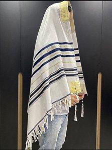 Talit Gadol Judaico 110cmX160cm