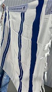 Talit Gadol Jumbo Azul Royal
