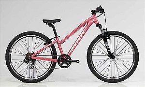 Bicicleta Aro 24 Soul Cycles Florinha Shimano Tourney 7v