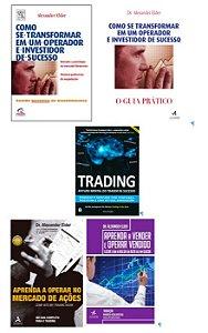 COMBO  5 LIVROS Trading in the Zone + 4 livros de Alexander Elder