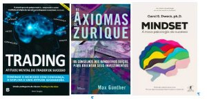 COMBO 3 LIVROS Trading in the Zone + Os Axiomas de Zurique + MINDSET