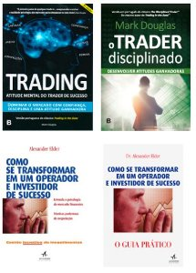 MARK DOUGLAS + ALEXANDER ELDER: Trading + Trader Disciplinado + Como Se transformar + GUIA