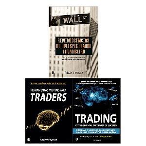 PRÉ-VENDA: Ferramentas Mentais para Traders  + Trading in the zone + Reminiscência- LANÇAMENTO