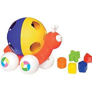 Brinquedo Educativo Caracol C/Blocos - Merco Toys