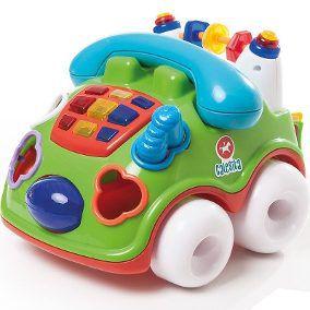 Brinquedo Educativo Falafone C/Luz E Sons - Calesita