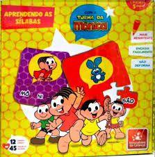Brinquedo Pedagógico Aprendendo Sílabas - Brincadeira de Criança