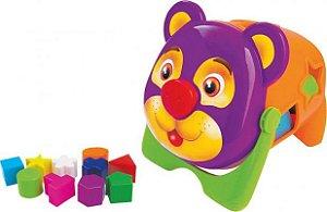 Brinquedo Educativo Urso C/ Blocos - MercoToys