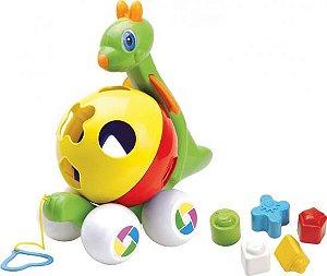 Brinquedo Educativo Canguru C/ Blocos - MercoToys