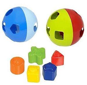 Brinquedo Bola Educativa C/ Blocos - Mercotoys