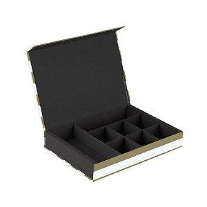 Caixa Organizadora Gold & Kraft 316 Branca - Ótima