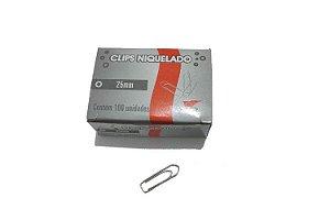 Clips Prata 25mm 100 Un - VMP