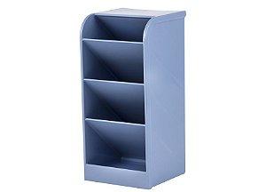 Organizador Diagonal Azul Pastel - Waleu