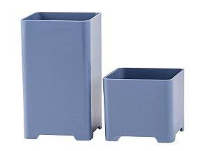 Kit Porta Objeto Azul Pastel - Waleu