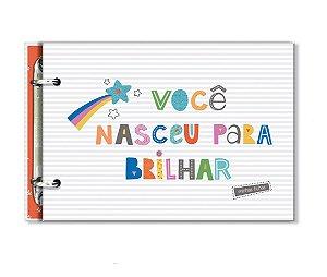 Porta-Fichas Frases Coloridas - Fina Ideia