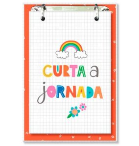 Bloco Office Frases Coloridas - Fina Ideia