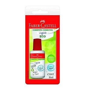 Corretivo Liquido Blister 18ml - Faber Castell