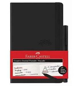 Caderneta Creative Journal Pautado - Faber Castell