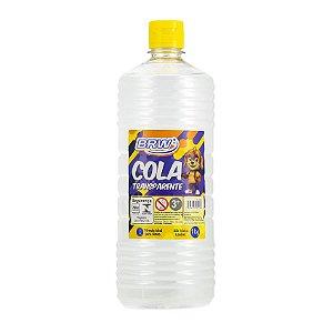 Cola Transparente Líquida 1kg - BRW