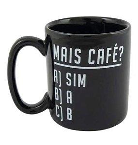 Caneca Cilíndrica Mais Café - Uatt