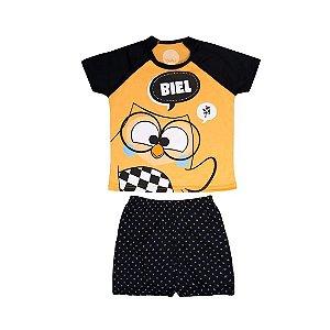 Pijama Short Infantil Masculino Biel 4 Anos - Uatt