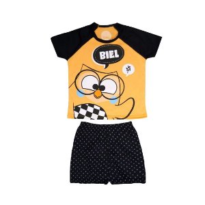Pijama Short Infantil Masculino Biel 6 Anos - Uatt