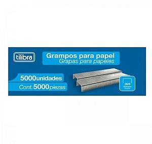 Grampo Prata 26/6 - Tilibra