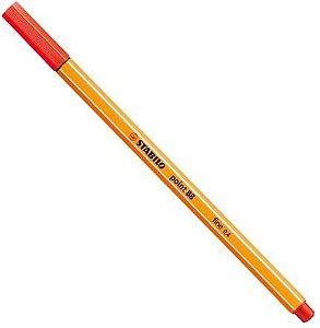 Caneta Point 88/48 Vermelho Claro - Stabilo