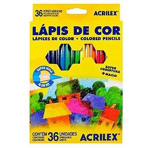 Lápis De Cor 36 Cores - Acrilex