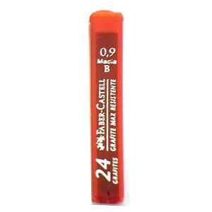 Grafite Polymer 0.9mm - B Macia - Faber -Castel