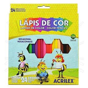 Lápis De Cor 24 Cores - Acrilex