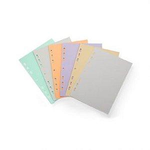 Refil Planner Corporate Maxi Colorido - Ótima