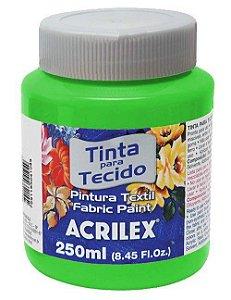 Tinta Tecido Fosca 250ml Verde Folha - Acrilex