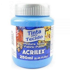 Tinta Tecido Fosca 250ml  Azul Celeste - Acrilex