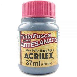 Tinta Fosca  Artesanato 37ml Cinza Lunar - Acrilex