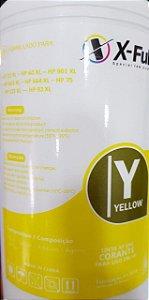 Tinta Xf Uni Corante Para Uso Hp Yellow 1l